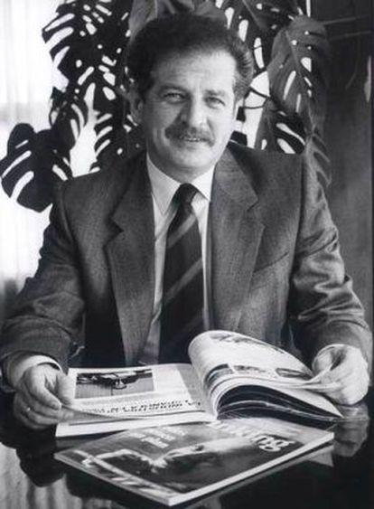 Luis Carlos Galán, en 1989.