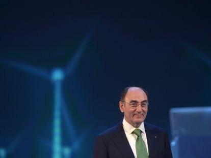 Ignacio Sánchez Galán, presidente de Iberdrola, durante una junta general de accionistas en abril de 2016.