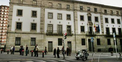 Sede de la Audiencia Provincial de Pontevedra.