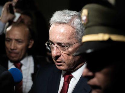 El expresidente y senador Álvaro Uribe, en una imagen de archivo.