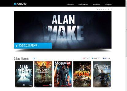 El portal Gaikai, socio de Samsung en el sector del videojuego.