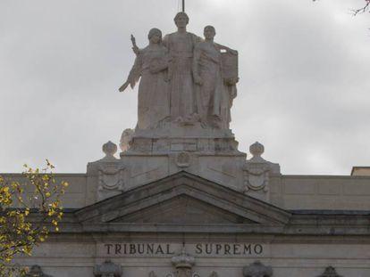 Fachada del Tribunal Supremo en Madrid. En vídeo, Manuel Marchena, nuevo presidente del Consejo General del Poder Judicial.