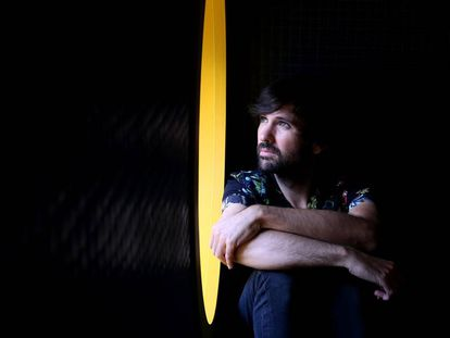 El músico David Otero, en Madrid.