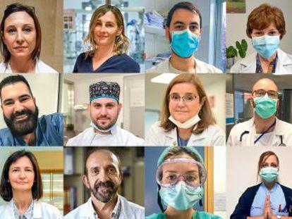 Un ejército de profesionales sanitarios demuestra lo esencial de su vocación en crisis como la del SARS-CoV-2. Este vídeo ofrece el testimonio de medio centenar de luchadores contra la pandemia