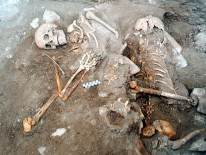 La Universidad de Castilla-La Mancha culmina la extracción de los restos de 200 soldados castellanos muertos frente a las tropas almohades en 1195 y que permitieron la salvación de Alfonso VIII