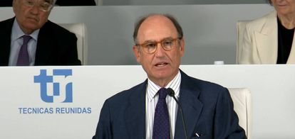 El presidente de Técnicas Reunidas, Juan Lladó.