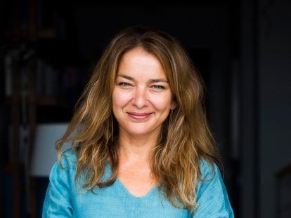 Lia Piano, autora de la novela en un retrato reciente.