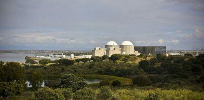 Central nuclear de Almaraz, en la provincia de Cáceres.