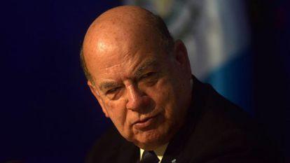 José Miguel Insulza, nuevo agente de Chile ante La Haya.