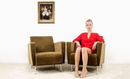 Carine Mathieu se autorretrata en 'Generación X'.