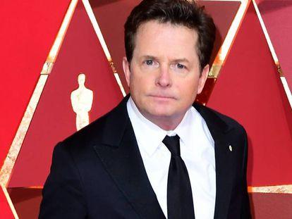 Michael J. Fox, en los premios Oscar de 2017.