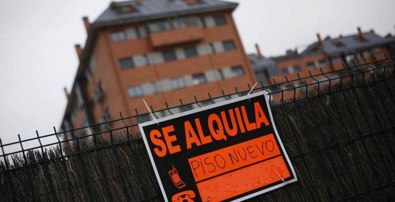 Anuncio de viviendas en alquiler en Albacete.