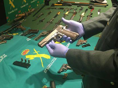 Pistola del calibre 45 utilizada por Paco el Loco.