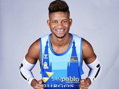 Jasiel Rivero, pívot del San Pablo Burgos. acbphoto