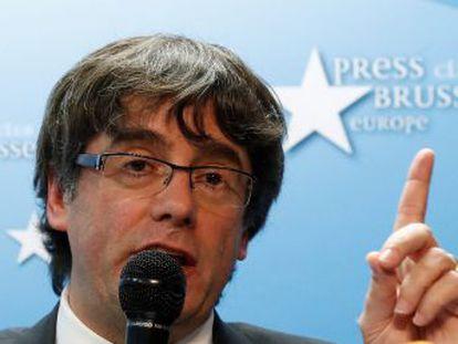 Puigdemont y cuatro exconsejeros confirman que no acudirán a declarar a la Audiencia