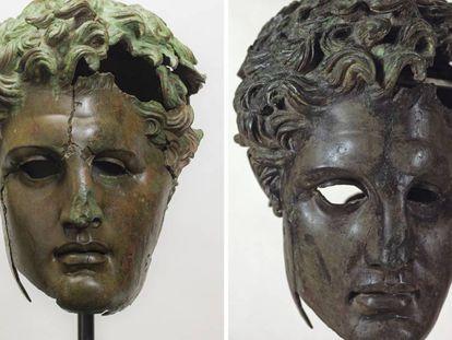 El Prado recupera un bronce helenístico del sucesor de Alejandro Magno