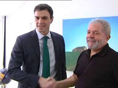 Pedro Sánchez busca en el brasileño Lula inspiración contra la crisis
