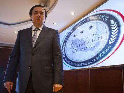 Tomás Zerón, exdirector de la Agencia de Investigación Criminal de México.