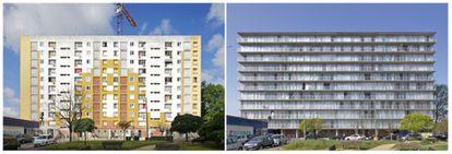 Transformación de 530 viviendas en Burdeos (2017).