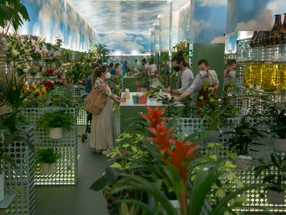Floristería Mon Parnasse, abierta en marzo en la calle Cea Bermúdez.
