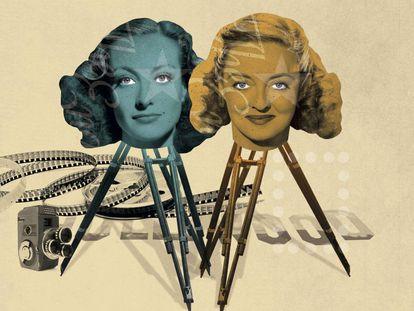 El odio visceral entre Joan Crawford y Bette Davis que duró hasta la muerte