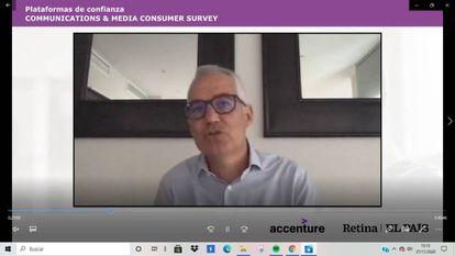 Alfonso González Imbroda, socio director de Accenture Interactive de Industria Comunicaciones y Medios