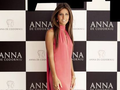 Ana Boyer, ayer en Madrid