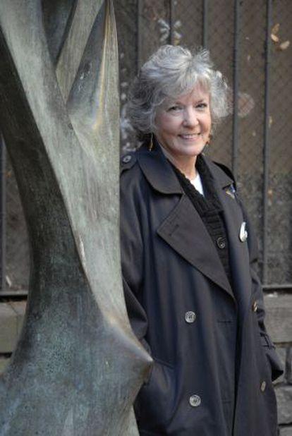 La escritora estadounidense Sue Grafton.