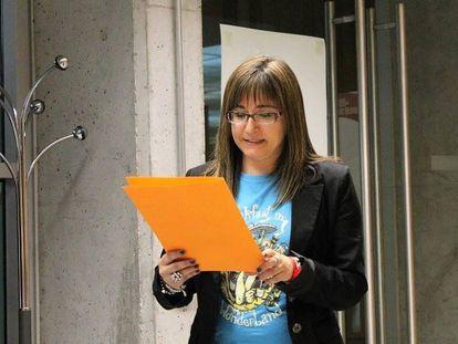 Cristina Parrilla, la concejal de San Fernando expulsada de IU-Madrid.