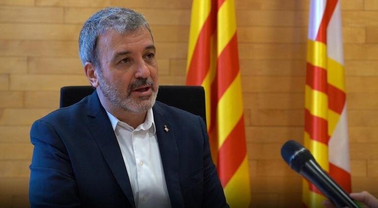 El primer teniente de alcalde, Jaume Collboni.  AYUNTAMIENTO DE BARCELONA 26/03/2020