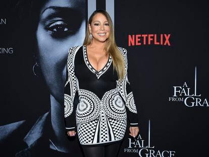 Mariah Carey en un estreno en Nueva York el pasado 13 de enero.