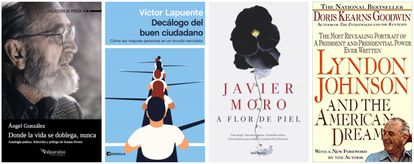 Libros recomendados por Beatriz Corredor, Antón Costas, Gabriel Escarrer y  Maurici Lucena.