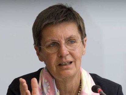 Elke Konig, presidenta de la Junta Única de Resolución bancaria europea.