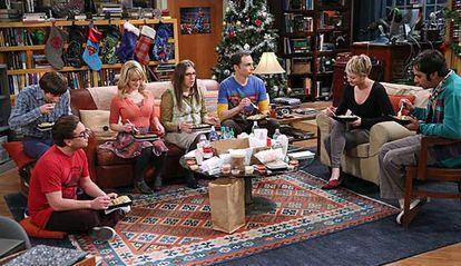 Una escena de 'The Big Bang Theory'.
