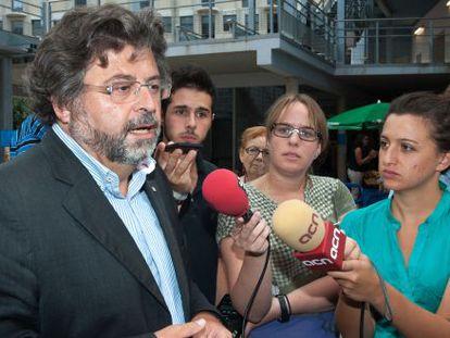 Antoni Castellà, secretario de Universidades, ayer.