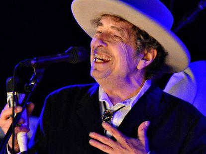 Dylan, durante una actuación en 2012.