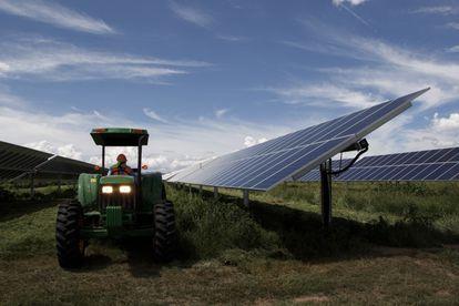 Planta solar 'Don José' en el estado mexicano de Guanajuato.
