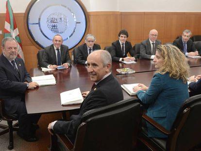El Consejo Vasco de Finanzas se reúne para certificar el cierre de la recaudación de 2017.