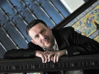El escritor Luisgé Martín, en una imagen del año pasado.