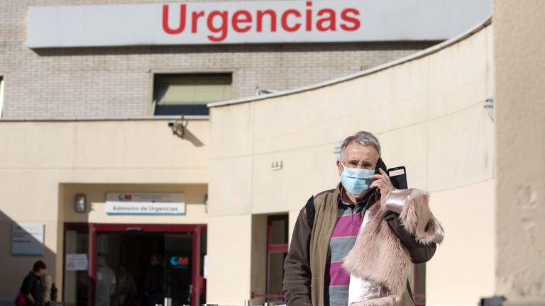 Dvd992(09/03/20)Urgencias del Hospital Gregorio Marañon , Madrid Foto: Víctor Sainz