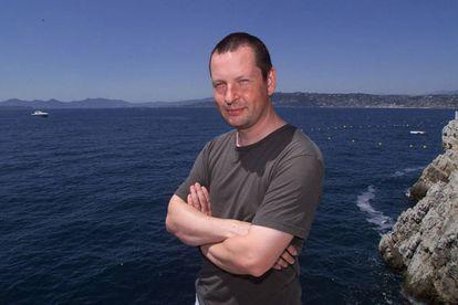 Retrato de Lars Von Trier en el Hotel Du Cap de Cannes en 2000.