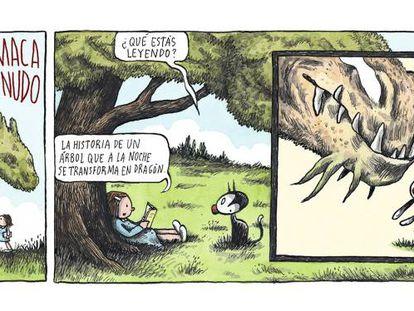 Sobre árboles y dragones
