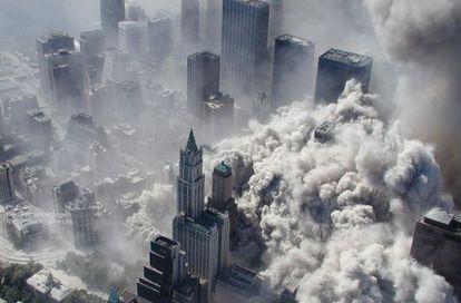 Destrucción del WTC en el 11-S.