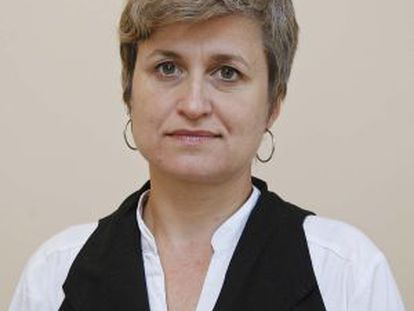 Anna Simó, candidata de ERC.