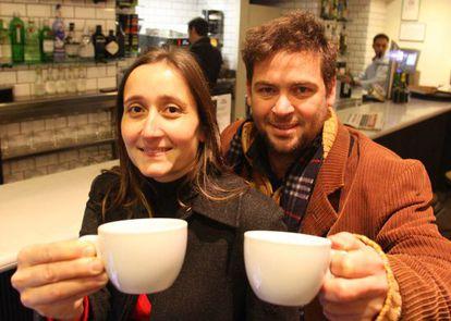 Marta Sibina y Albano Dante.