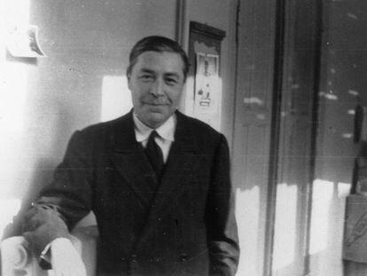 El escritor Josep Pla, en 1942, en una foto de la Fundación de Palafrugell (Col·lecció Josep Vergés)