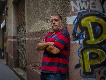 Albert Gort, un 'sin techo' de Barcelona que acude al centro de la Fundació Arrels.