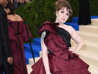 Lena Dunham, en la Gala del Met.