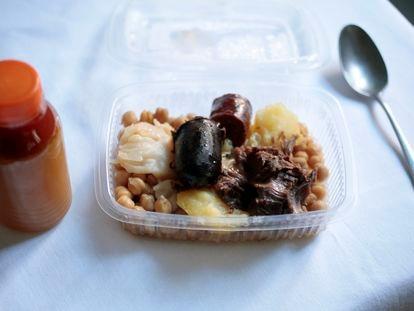 Degustación de cocido de Malacatín para llevar por 8,50 euros