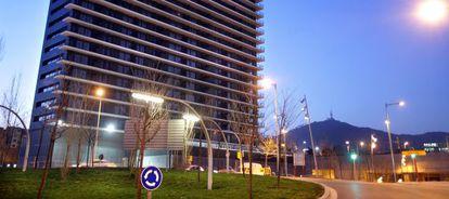 Edificio de viviendas promovidas por Habitat en L'Hospitalet de Llobregat.